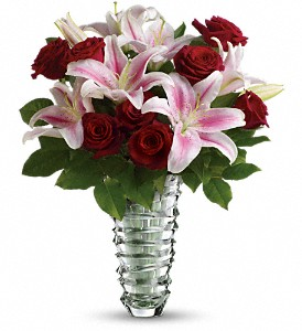 Teleflora's Melt My Heart  - Long Stemmed Roses in San Jose CA, Rosies & Posies Downtown