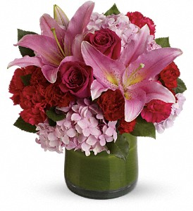 Fabulous in Fuchsia in Athens TX, Expressions Flower Shop