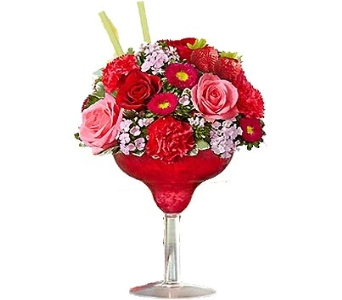Strawberry Surprise Cocktail Bouquet in Birmingham AL, Norton's Florist