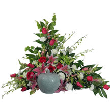 Love's Garden Cremation Arrangement in Denver CO, Lehrer's Flowers