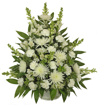Simple Devotion Deluxe Basket in Denver CO, Lehrer's Flowers