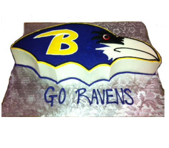 The Baltimore Raven in Baltimore MD, Raimondi's Flowers & Fruit Baskets