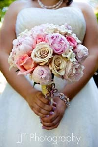 Brides Bouquet in Arcata CA, Country Living Florist & Fine Gifts