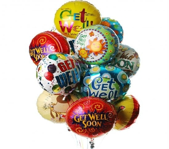 Get Well Quickly Balloon Bouquet in Princeton, Plainsboro, & Trenton NJ, Monday Morning Flower and Balloon Co.