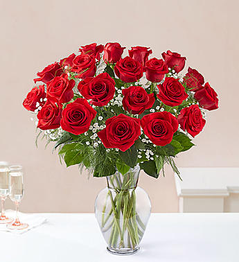 Two Dozen Premium Long Stem Red Roses in El Cajon CA, Conroy's