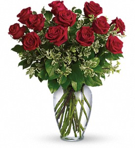 Always on My Mind - Dozen Long Stemmed Red Roses in Concord CA, Vallejo City Floral Co