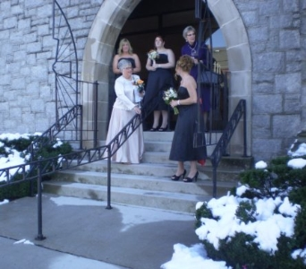 Amy's Wedding in Hanover PA, Country Manor Florist