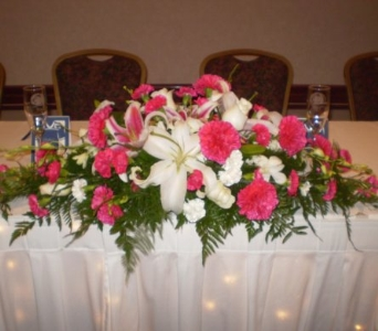 Heather's Wedding in Hanover PA, Country Manor Florist