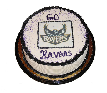 Go Ravens Cake in Baltimore MD, Raimondi's Flowers & Fruit Baskets