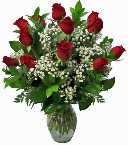 Deluxe Dozen Roses: Longer Stemmed in Fort Myers FL, Fort Myers Florist, Inc.