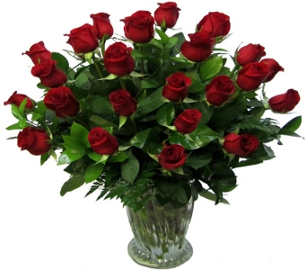 Premium, Two Dozen Longer-stemmed Roses in Newport News VA, Pollards Florist