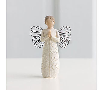 Willow Tree Angel: A Tree, A Prayer in Santa Claus IN, Evergreen Flowers & Decor