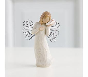 Willow Tree Angel: Thinking of You in Santa Claus IN, Evergreen Flowers & Decor