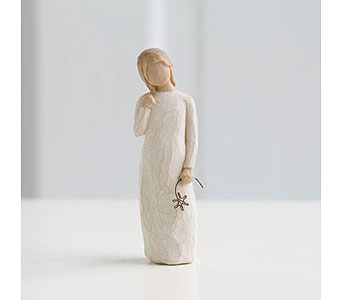 Willow Tree Angel: Remember in Santa Claus IN, Evergreen Flowers & Decor