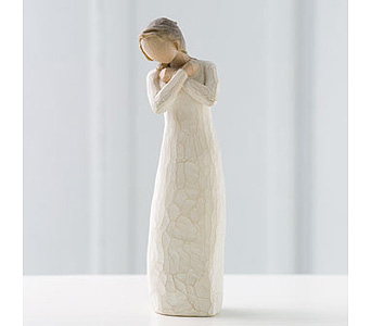 Willow Tree Angel: Healing Grace in Santa Claus IN, Evergreen Flowers & Decor