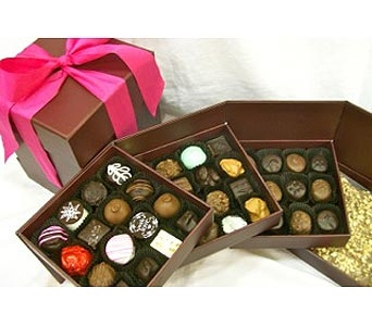 Our Signature Box in Four  Layer in Spokane WA, Bloem Chocolates & Flowers of Spokane