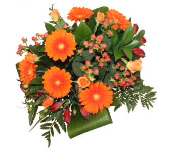 Orange Crush Bouquet in Grimsby ON, Cole's Florist Inc.