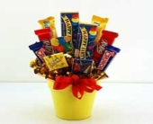 candy bouquet in Bismarck ND, Dutch Mill Florist, Inc.
