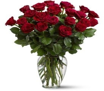 24 Red Roses in Herndon VA, Herndon Florist, Inc