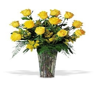 Sunshine Yellow Roses in Herndon VA, Herndon Florist, Inc