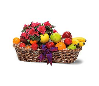 Fruit and Flower Basket in Santa Clara CA, Citti's Florists