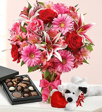 Valentine Suprise in Mooresville NC, All Occasions Florist & Gifts<br>704.799.0474