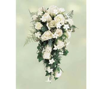 Cascading White in Brooklyn NY, Enchanted Florist