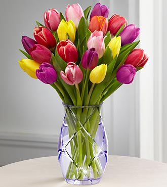 The FTD� Spring Tulip Bouquet by Better Homes and in Highlands Ranch CO, TD Florist Designs