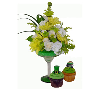 Shamrock Margarita & Cupcakes in Baltimore MD, Raimondi's Flowers & Fruit Baskets