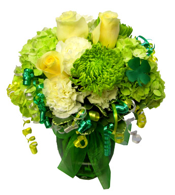 When Irish Eyes are Smiling in Newport News VA, Pollards Florist