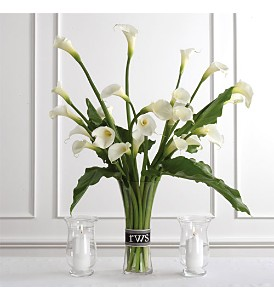 Calla Lily Arrangement in Eugene OR, Dandelions Flowers