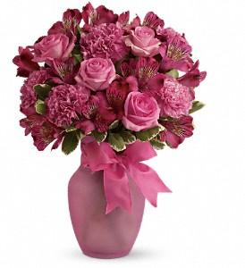 Pink Blush Bouquet in Chatham ON, Pizazz!  Florals & Balloons