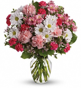 Teleflora's Sweet Tenderness in Rancho Cordova CA, Roses & Bows Florist Shop