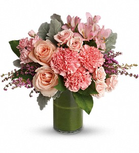 Polished Pinks in DeKalb IL, Glidden Campus Florist & Greenhouse