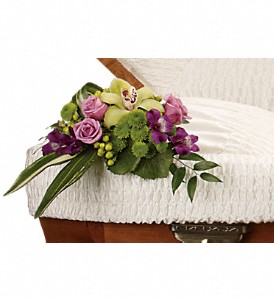 Dearest One Casket Insert in Farmington CT, Haworth's Flowers & Gifts, LLC.
