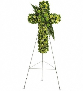 Garden Cross in Staten Island NY, Evergreen Florist