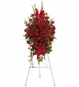 Deep in Our Hearts Spray in Cleveland OH, Filer's Florist Greater Cleveland Flower Co.