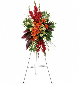 A New Sunrise Spray in Kokomo IN, Jefferson House Floral, Inc
