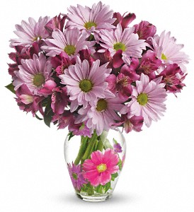 Teleflora's Love You Bunches Bouquet in Fountain Valley CA, Lavender Memory Flowers & Gifts