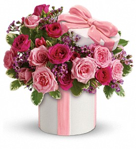Teleflora's Hats Off to Mom Bouquet in Santa Clara CA, Fujii Florist - (800) 753.1915