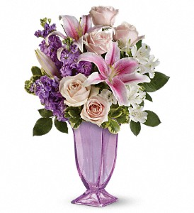 Always Elegant Bouquet by Teleflora in Houston TX, Fancy Flowers