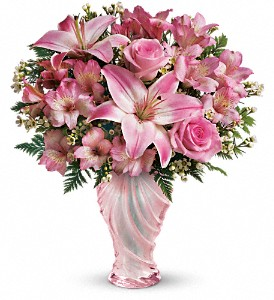 Teleflora's Charm & Grace Bouquet in Urbana OH, Ethel's Flower Shop