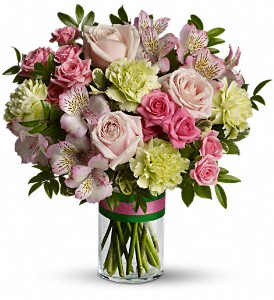 Teleflora's Wonderful You Bouquet in Santa Monica CA, Edelweiss Flower Boutique