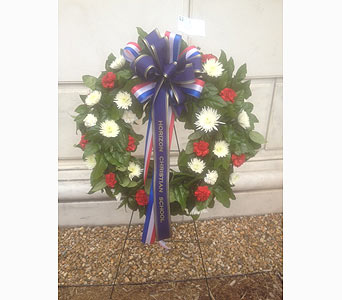 Red, White & Blue Wreath in Rockville MD, Flower Gallery