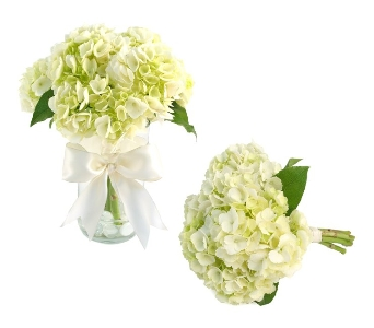 Brides Hydrangea Bouquet (Metro-Detroit Area Only) in Southfield MI, Thrifty Florist