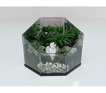 In Loving Memory Terrarium in Indianapolis IN, Gillespie Florists