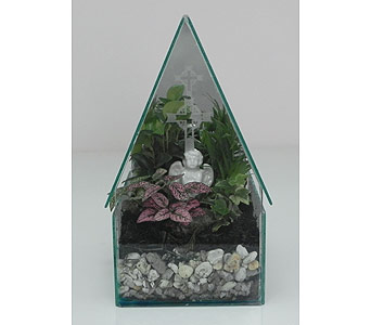 Chapel of Peace Terrarium in Indianapolis IN, Gillespie Florists