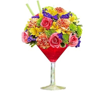 Sangria Cocktail Bouquet in Birmingham AL, Norton's Florist