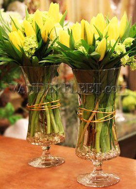 Tulips Time Vase Design in Etobicoke ON, VANDERFLEET Flowers