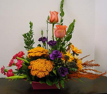 Tropical Autumn in Asheville NC, Kaylynne's Briar Patch Florist, LLC